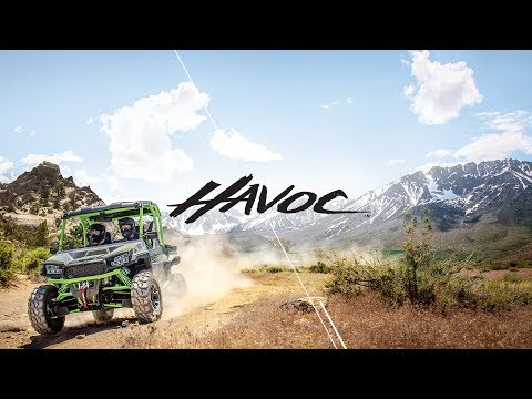 2019 Arctic Cat Havoc in Hancock, Michigan - Video 1