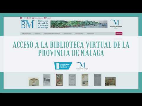 ¿Qué es la Biblioteca Virtual de la Provincia de Málaga?