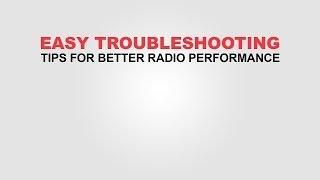 Easy Two-Way Radio Troubleshooting