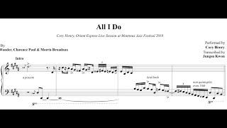 Cory Henry - All I Do (Stevie Wonder)  Transcripción