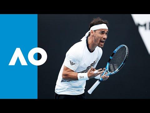 Reilly Opelka vs. Fabio Fognini - Match Highlights (1R) | Australian Open 2020