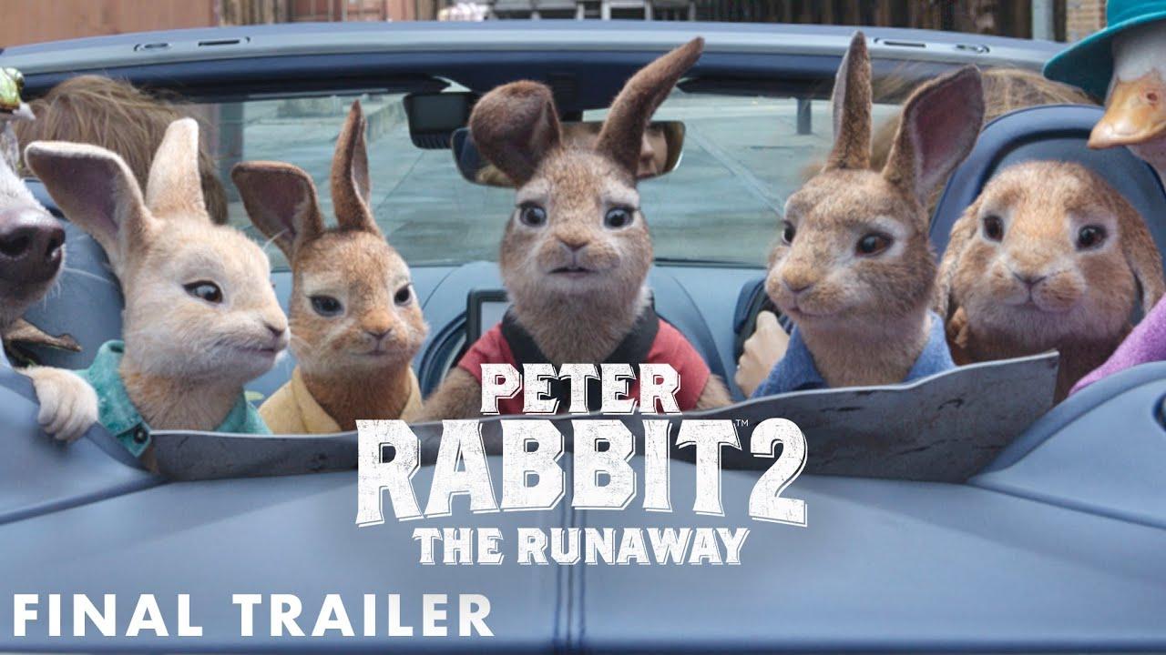 Trailer för Pelle Kanin 2 - på rymmen
