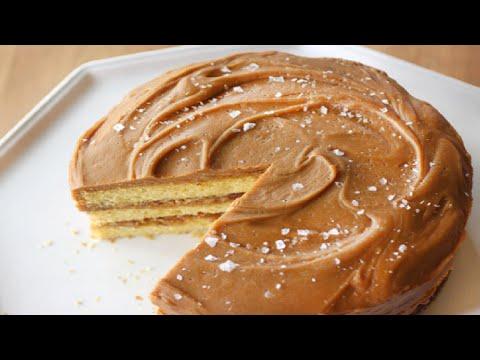 Video Caramel Cake Recipe - How to Make Delicious Caramel Cake