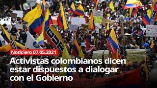SIGUE LA REPRESIÓN SANGRIENTA DEL GOBIERNO COLOMBIANO CONTRA EL PUEBLO