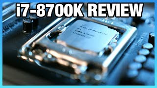 Intel i7-8700K Review vs. Ryzen: Streaming, Gaming, Delidding [UPDATED]