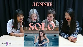 [MV REACTION] SOLO   JENNIE (BLACKPINK) | P4pero Dance