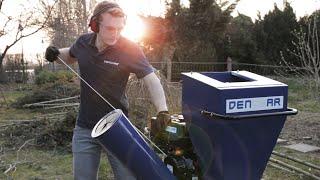 DENQBAR Gartenhäcksler DQ-0232: von der Lieferung bis zum ersten Start