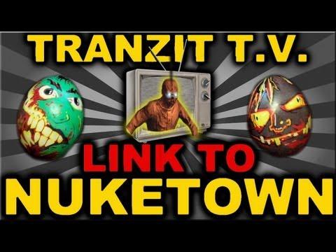 """BO2 - """"Tranzit TV Link to Nuketown Easter Egg"""" (Black Ops 2 Secrets)"""