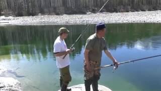 Рыбалка в иркутской области на реке китой
