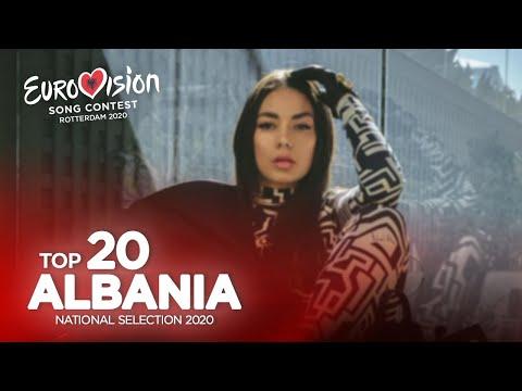 🇦🇱: Eurovision 2020 - Festivali i Këngës 58 - Top 20