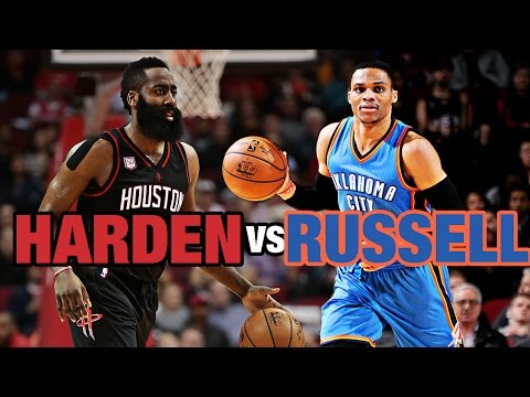 Russell Westbrook 49 Points vs James Harden 26 Points, 12 Assists | 01.05.17
