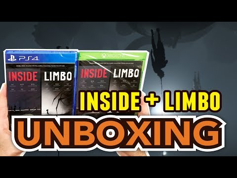 Inside + Limbo Double Pack (PS4/Xbox One) Unboxing !!