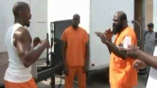 Kimbo Slice Gets A Lesson From Michael Jai White