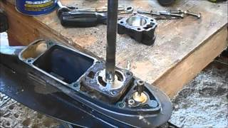 How To Replace A Tohatsu - Nissan Outboard  Water Pump - Impeller