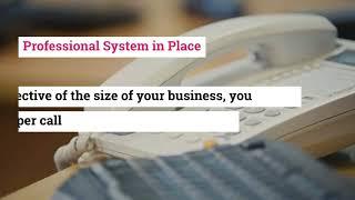 Streamline Your Business with Panasonic PBX Phone System