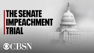 Watch Live | Impeachment Trial Day 3: Democrats detail Trump-Ukraine timeline in opening arguments