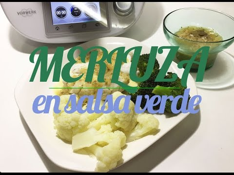 Merluza en salsa verde | Recetas Thermomix