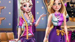 Princesses Outfit Design (Принцессы Диснея модные аксессуары)