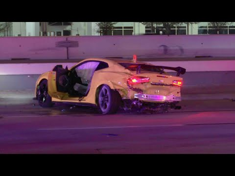 *Caught On Camera* Awful 140mph Camaro Wreck Kills Three, Injures Several   Houston