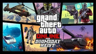 GTA Online: The Doomsday Heist available now