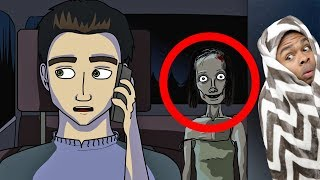 Reacting To True Story Scary Animations Part 3 (Do Not Watch Before Bed)