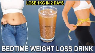 Bedtime Drink to Lose Belly Fat   Fat Cutter To Lose 1 Kg In 2 Days   Bedtime Drink For Weight Loss