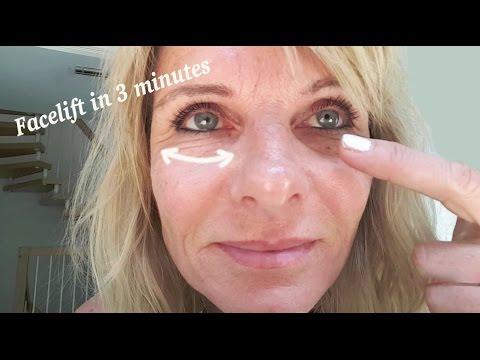 Augenfalten straffen,wegbekommen, die Antifaltencreme mit Soforteffekt in 3 Minuten