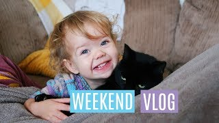 CHRISTMAS SHOPPING ONLY ONE CHILD & PREGNANCY NAPS   FAMILY WEEKEND VLOG