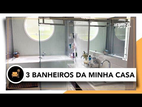 TOUR NOS BANHEIROS DA MINHA CASA NA QUARENTENA