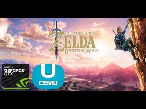 Cemu - Guide Setup for Zelda BOTW on GTX 960M - i5-6300HQ