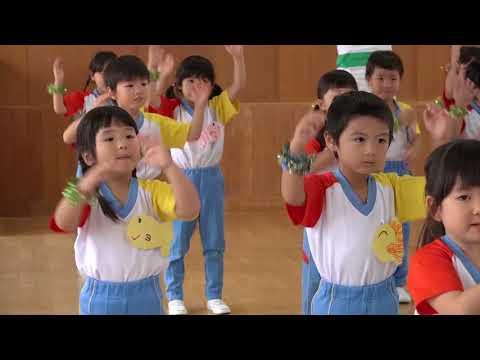 日本全国でレッツ☆うみダンス in 御所野幼稚園のみなさん