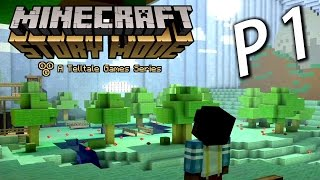Minecraft Story Mode Chapter 3《我的世界故事模式》第三章 P1 : 找尋隊長