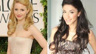 Dianna Agron Golden Globes 2011 Inspired Hair