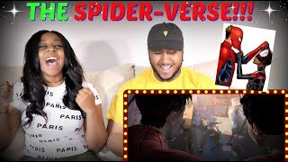 """""""SPIDER-MAN: INTO THE SPIDER-VERSE"""" Official Trailer #2 REACTION!!"""
