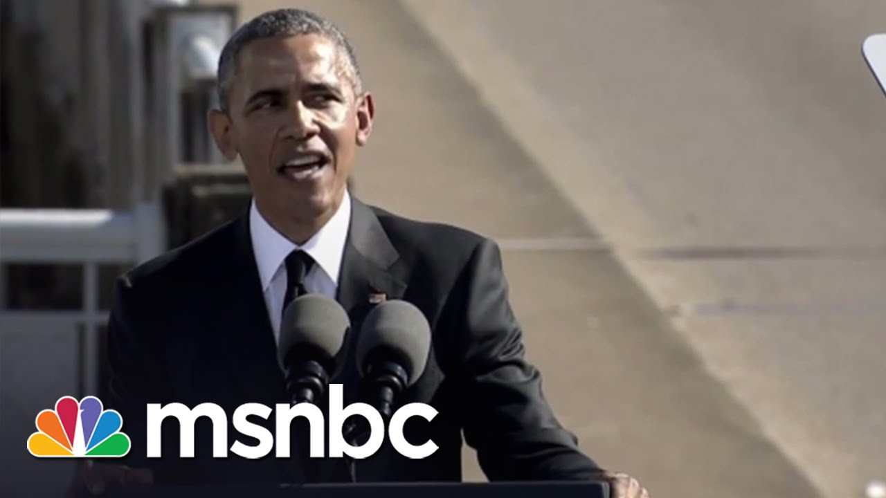 Obama's Pitch Perfect Moment In Selma | Morning Joe | MSNBC thumbnail