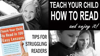 TEACHING KIDS HOW TO READ (turn struggling readers into kids who WANT to read!)