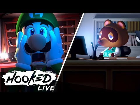 Nintendo Direct - Unsere Reaktionen zu Luigi's Mansion 3, Animal Crossing & mehr! (видео)