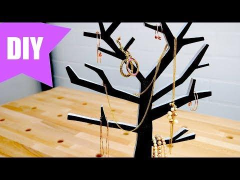 ✅  Schmuckbaum selber bauen - Perfekt zum verschenken - Geschenkidee
