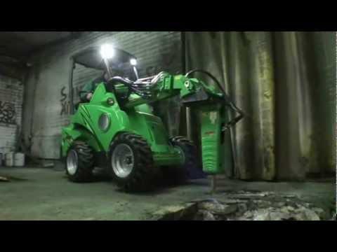 Avant Hydraulisk pigg - film på YouTube