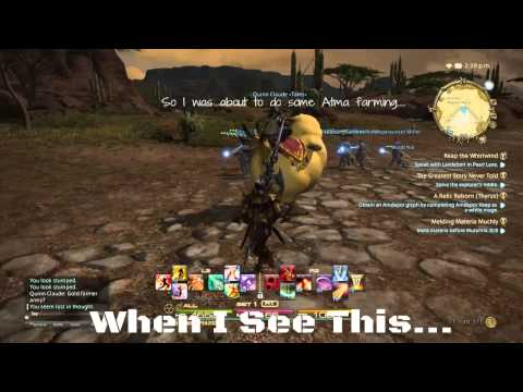 Final fantasy xiv gm encounter