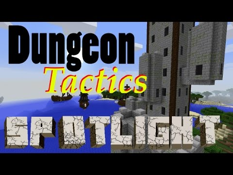 Dungeon Tactics Mod 1.10.2 | Minecraft How to install and Mod Spotlight