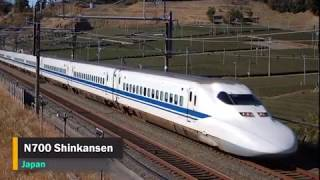Top 10 Fastest Trains in The World 2019   Amazing Compilation of the High speed Trains 2018