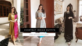 7 Everyday Indian Outfits For Office/College | Sana Grover