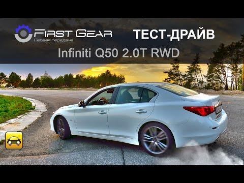 Infiniti  Q50 Седан класса D - тест-драйв 2