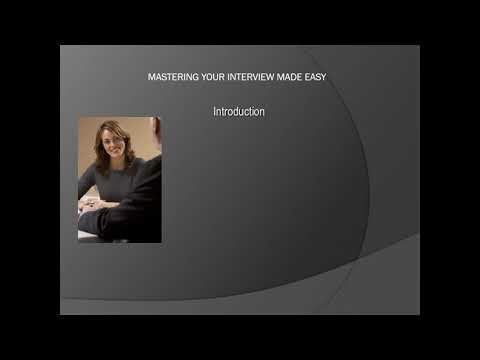 Job Interview Skills Training Course - learn Interviewing Skills