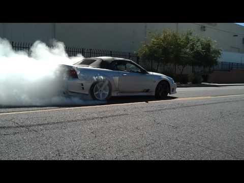 1999 Saleen SC Mustang Burnout