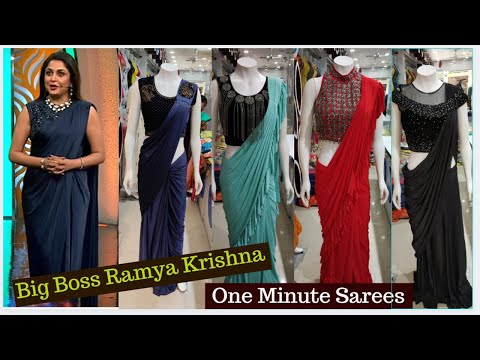 One Minute Saree, PartyWare, Birdal Saree, 10% Discount, dilsukhnagar shopping #hydlife
