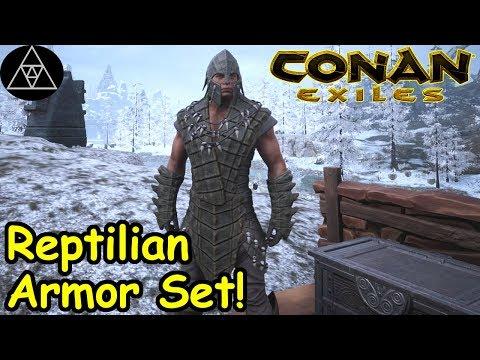 Conan Exiles Ep29   Legendary Armorer Location, And Hyena
