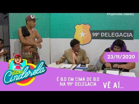 PAPEIRO DA CINDERELA - Exibido segunda-feira 23/11/2020
