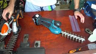 Makita DUM604ZX vs Stihl HSA 25 vs Worx WG801E nożyce akumultorowe do żywopłotu / formowania